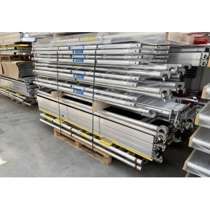 Zarges Z600 Rollmaster 1T 4,50 m munkamagasság, 1,80 m járólaphossz